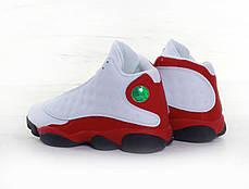 Мужские кроссовки Nike Air Jordan 13 Retro Black/White/Red, фото 2