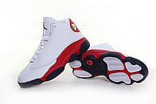 Мужские кроссовки Nike Air Jordan 13 Retro Black/White/Red, фото 3