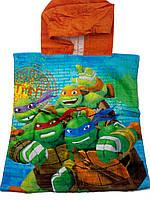 Пляжное пончо- полотенце для мальчика