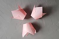 """Бумажная форма для кексов """"Тюльпан"""", розовый, фото 1"""