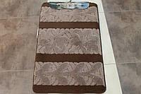 Набор ковриков для ванной комнаты и туалета 3D Super