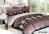Двуспальный комплект постельного белья 180*220 из полисатина  Королевский Шик