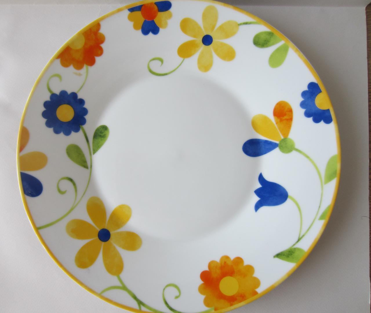 Тарелка обеденная Colors 27 см