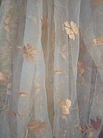 Тюль органза Бабочка высота 2м80см