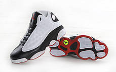 Мужские кроссовки Nike Air Jordan 13 Retro White/Black, Найк Аир Джордан 13, фото 3