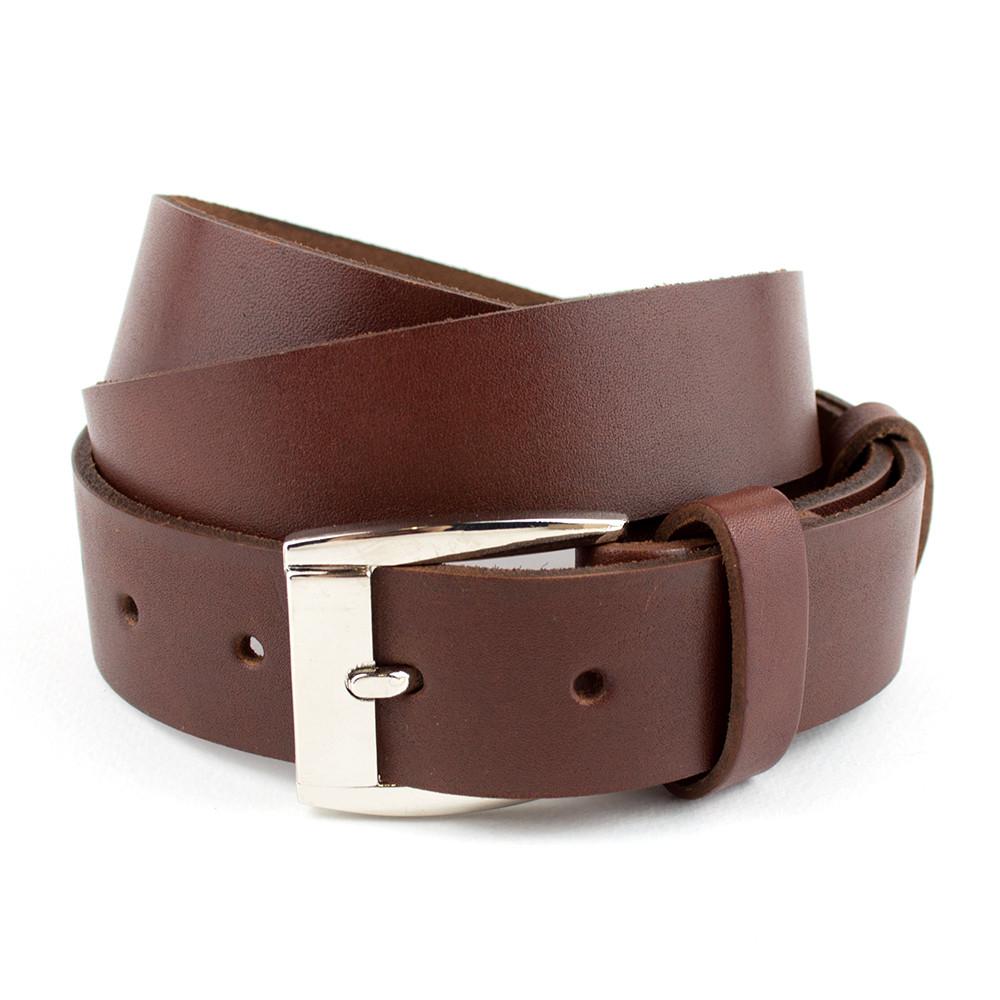 Женский кожаный ремень М-02 (коричневый) (2,9 см)