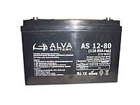 ALVA AS12V80AH 12V 80AH, фото 1