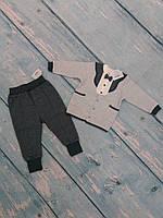 Стильный комплект для мальчика (2 предм., футер), 74