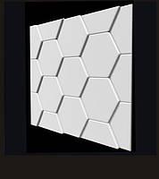"3-D панели из гипса ""Черепица"""