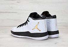 Мужские кроссовки Nike Air Jordan Melo M13  White/Black, Найк Аир Джордан 13, фото 2