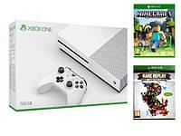 Игровая консоль Xbox One S + Minecraft