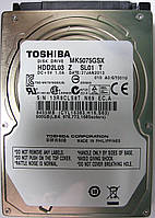 HDD 500GB 5400 SATA2 2.5 Toshiba MK5075GSX неисправный 13R8CLS8TN69