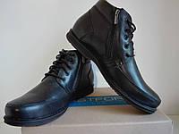 Зимние ботинки BISTFOR кожа, мех. 46 р. 47 р.