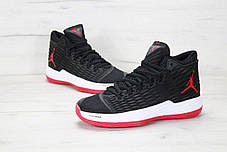 Мужские кроссовки Nike Air Jordan Melo M13 Black/White/Red, Найк Аир Джордан 13, фото 3