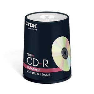 TDK CD-R 700 MB 52x, Cake box/100