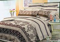 Полуторный комплект постельного 150х220 из полиэстера Кайма