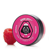 Бальзам для губ The Body shop Born Lippy Pot Lip Balm Raspberry Малина