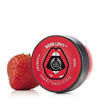 """Бальзам для губ The Body shop Born Lippy Pot Lip Balm Strawberry """"Клубника"""""""