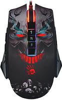 Мышь A4Tech P85 (Skull) USB Bloody Black, 5K Optical, PMW3325 Sensor 5000CPI, динамичная подсветка, фото 1