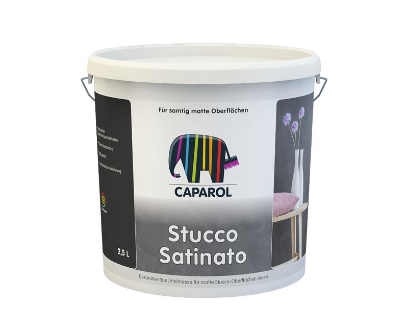 Шпатлевка декоративная Capadecor Stucco Satinato матовая , 2,5л