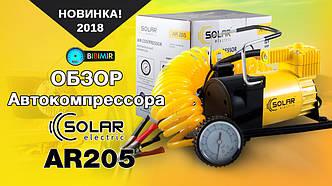 Обзор автокомпрессора Solar AR205 3