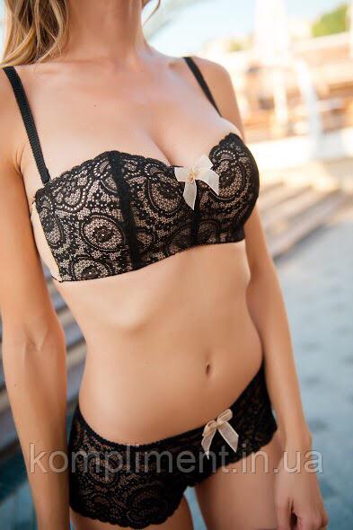 Бескаркасный комплект женского нижнего белья Lora iris 6445