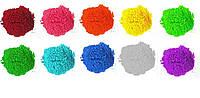 Краска Холи (Гулал), Фарба Холі, набір 10 кольорів, пакети 50 грам