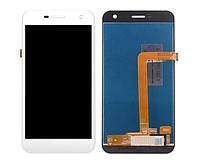 Оригінальний дисплей (модуль) + тачскрін (сенсор) для WileyFox Spark   Spark Plus (білий колір)
