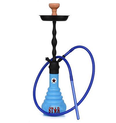Кальян AMY 4 STARS 630 синий, фото 2