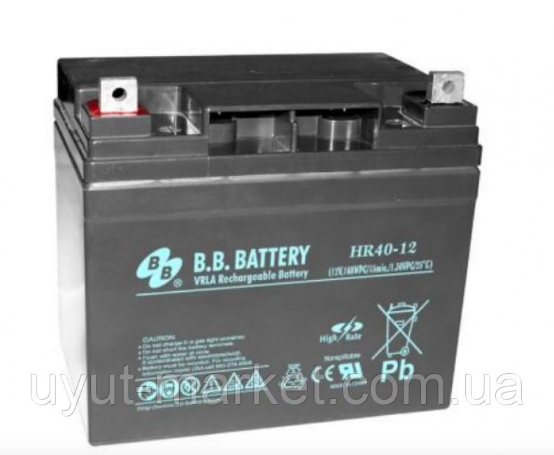 Аккумулятор BB Battery HR40-12S