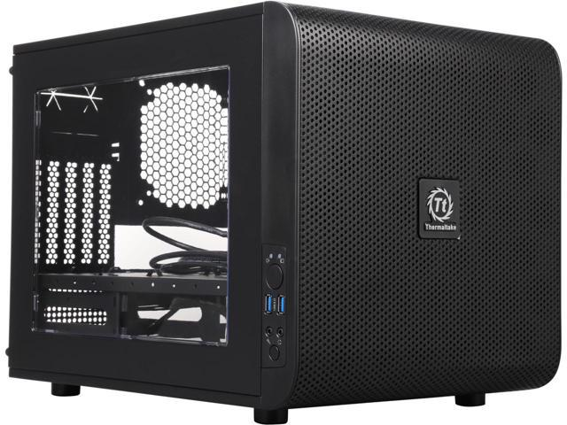 "Корпус Thermaltake Core V21 Black (CA-1D5-00S1WN-00)  ""Over-Stock"""