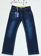 Утепленные джинсы  для мальчика на рост 140 см, фото 1