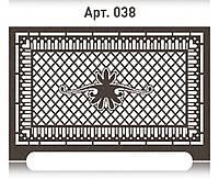 Ажурная решетка на радиатор отопления из  МДФ (лазерная резка)