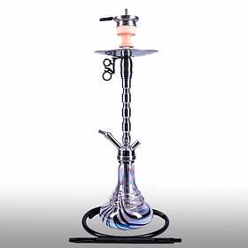 Кальян AMY Deluxe SS 02R PLUS Style steel черный