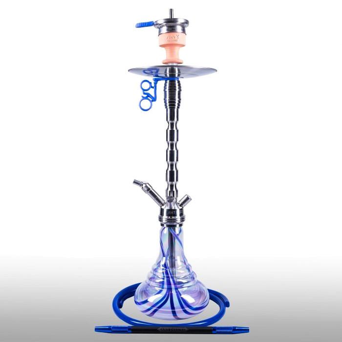 Кальян AMY Deluxe SS 02R PLUS Style steel синий