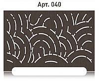 Фантазийная решетка на радиатор отопления из  МДФ (лазерная резка)