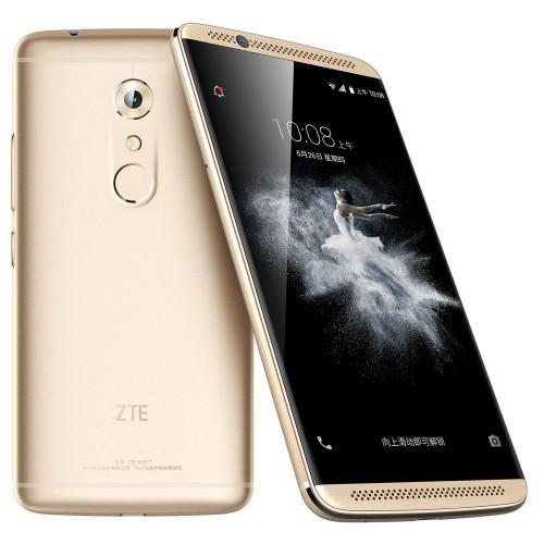 "Смартфон ZTE Axon 7 mini Gold, 3/32Gb, 16/8Мп, 8 ядер, 2sim, экран 5.2"" AMOLED, 2700mAh, 4G, Android 6.0"