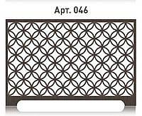 Современная решетка на батарею отопления из  МДФ (лазерная резка)