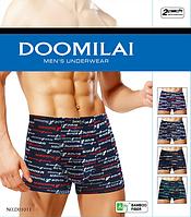 Трусы(боксеры) мужские Doomilai бамбук/хлопок - 45грн. Упаковка 2шт - p.XL, фото 1