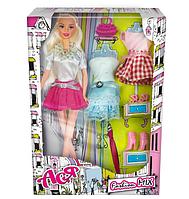 """Детская кукла Ася шарнирная """"Модный микс"""",28 см,блондинка.Красивая кукла для девочек.Игрушка для девочек."""