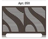 Проветриваемая решетка на радиатор отопления из  МДФ (лазерная резка)