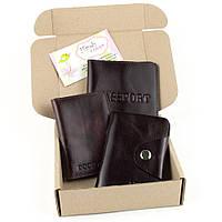 Подарочный набор №2 (9 цветов): обложка на паспорт + обложка на документы + картхолдер