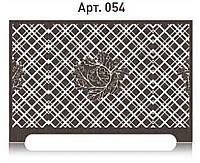 Оригинальная решетка Арт Деко на радиатор отопления из  МДФ (лазерная резка)