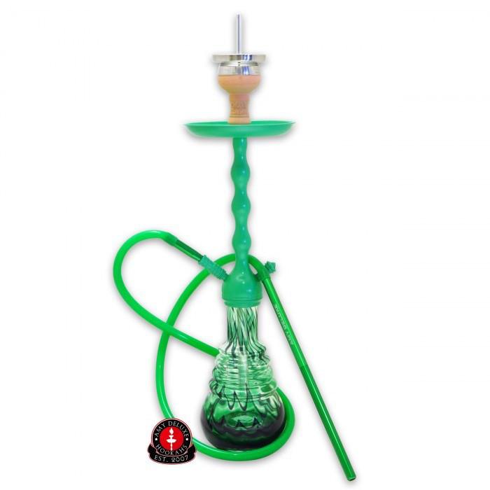 Кальян AMY Deluxe 640 Zuri зеленый