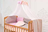 Детская кроватка для новорожденных «LAMA» Eco Style