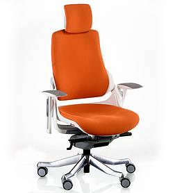 Кресло Wau Mandarin Fabric каркас белый (Special4You-ТМ)
