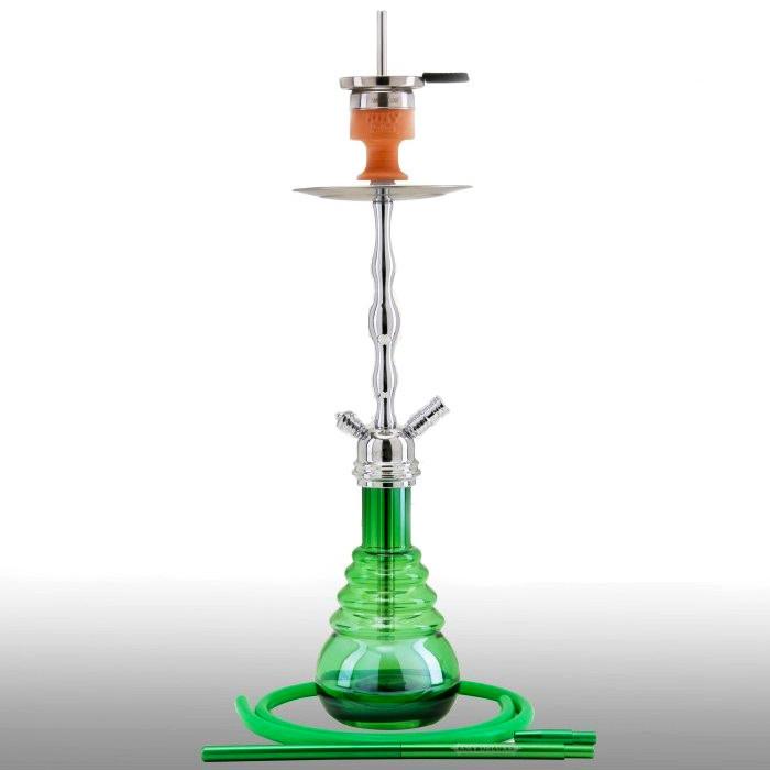 Кальян AMY Deluxe 630R Glorious высота 75 см на 1 персону зеленый