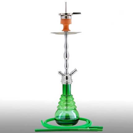 Кальян AMY Deluxe 630R Glorious высота 75 см на 1 персону зеленый, фото 2