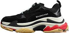 Женские кроссовки Balenciaga 17FW Tripe-S Dad Shoe Black