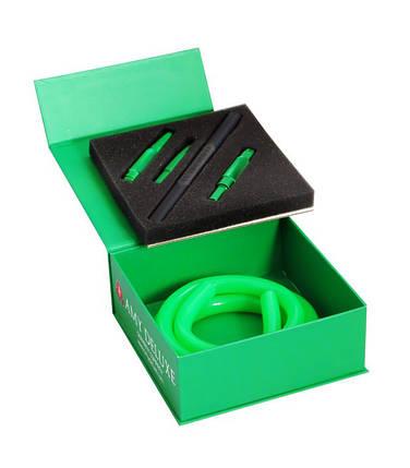 Шланг с алюминиевым мундштуком AMY Deluxe S238 SET зеленый, фото 2